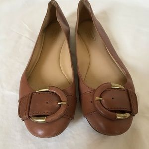 Coach Ballet Flats - with Buckle